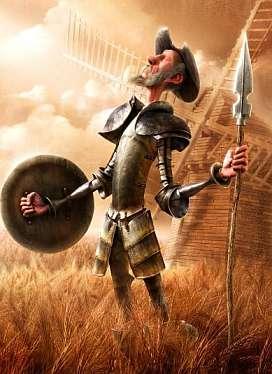 Ik voel mij als Don Quiote tegen de Windmolens