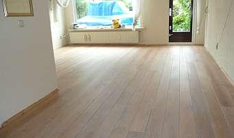 de nieuwe 'wittere' vloer