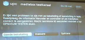 UPC Mediabox test