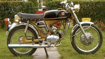 Yamaha FS1,brommer